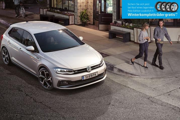 VW Polo Edition mit Gratis Winterkompletträdern